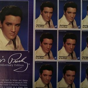 Elvis Collectible Stamps